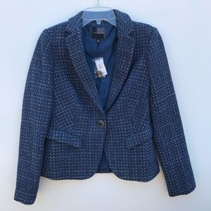 The Limited Woven Blazer Jacket NWT #298